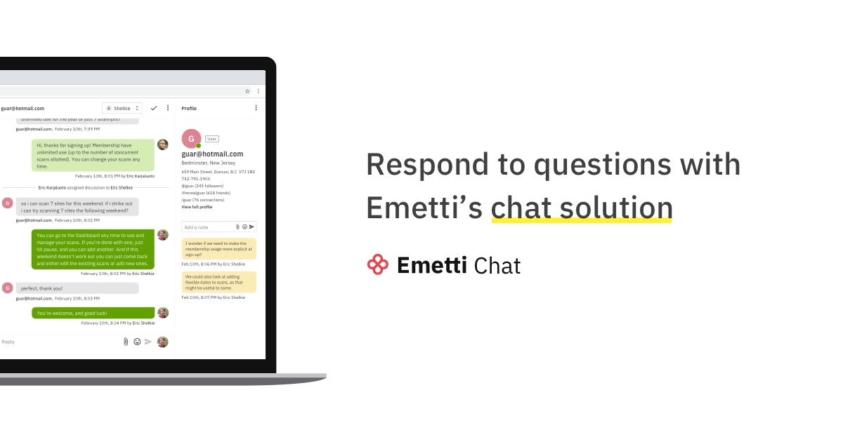 Chat Solution Emetti